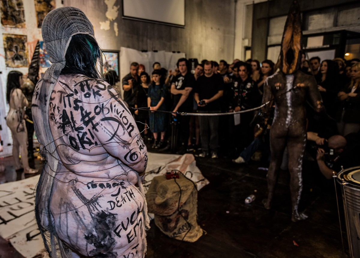 Performance art, Body art