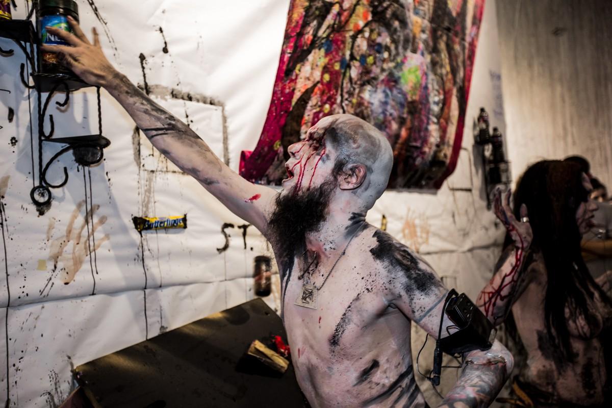 Performance art, Body art